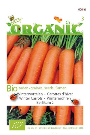 Organic seeds Berlikum 2 Winter Carrots