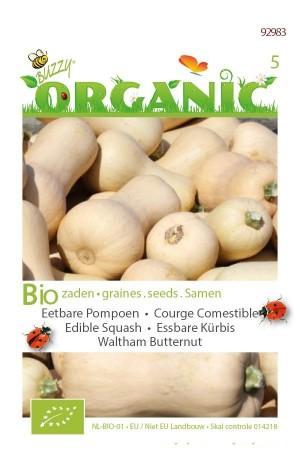 Biologische zaden Waltham Butternut Pompoen