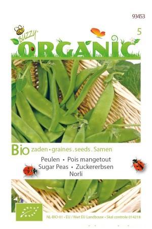 Organic seeds Norli Sugar Peas