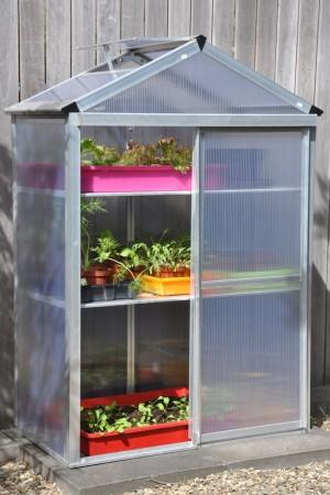 Patio Greenhouses Plant Station Aluminium Patiokas