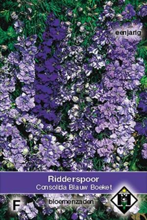 Ridderspoor (Delphinium) Blauw Boeket Riddersporen