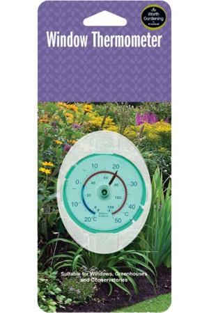 Meetinstrumenten Raam Thermometer
