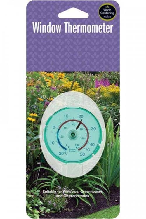 Measuring Equipment Window Thermometer