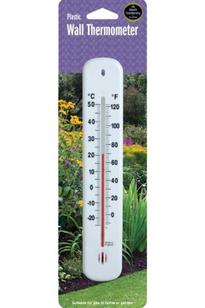 Measuring Equipment Wall Plastic Thermometer