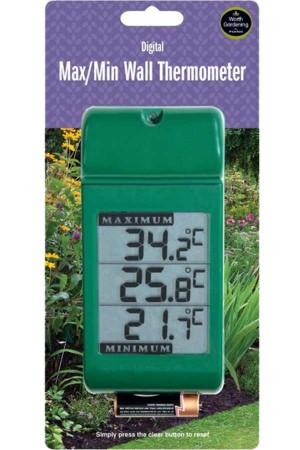 Meetinstrumenten MIN-MAX Digitaal Muurthermometer