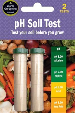 Meetinstrumenten pH Grond Tester (2 tests)