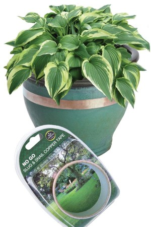 Slug and Snail trap No Go Slug Snail Copper Tape (4m)