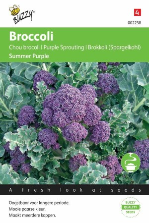Broccoli - Calabrese Summer Purple