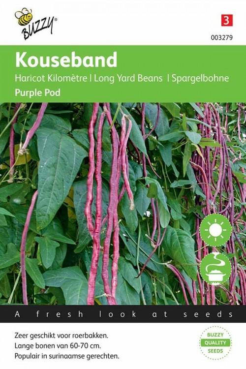 Yard Long - Asparagus Bean Yardlong Beans Purple