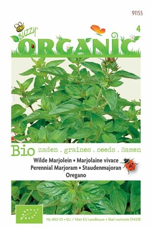 Biologische zaden Wilde Marjolein - Oregano