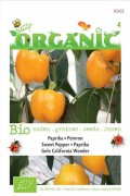 Organic seeds Yellow California Wonder Sweet Pepper