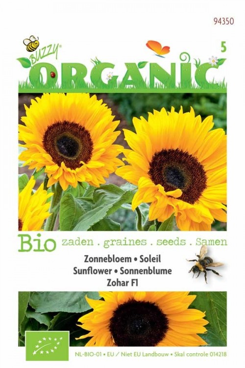 Zohar F1 Sunflower - Organic