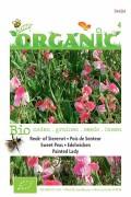 Painted Lady Sweet Peas - Organic