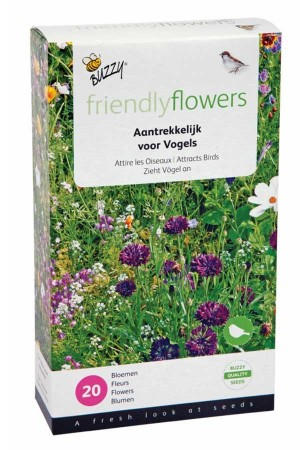 Birds Flower Mixture Birds Flowermix 15m2