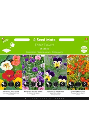 Seedmats Vegetable Seedmat 4 x 20x20cm