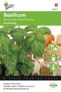 Grootbladige Basilicum zaden