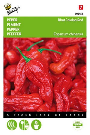 Bhut Jolokia Red Peper