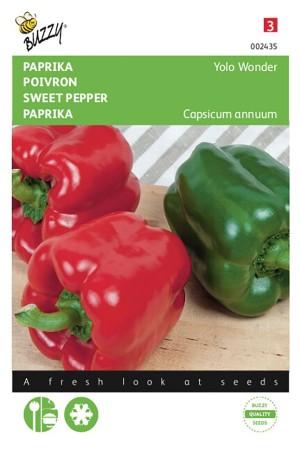 Yolo Wonder - Red Bell Pepper