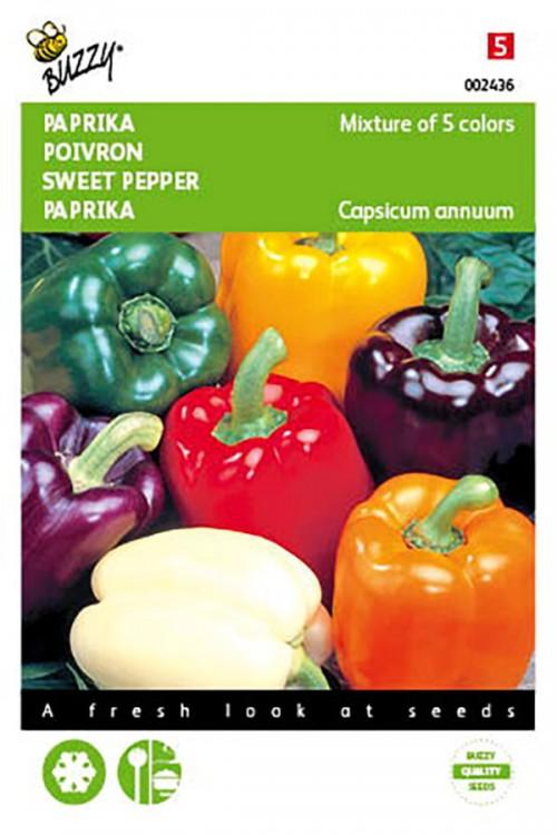Kleurenmengsel Paprika