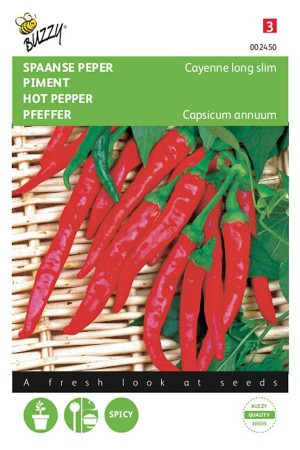 Cayenne Spaanse Peper