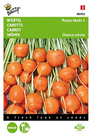 Parijse Markt 4 wortel zaden