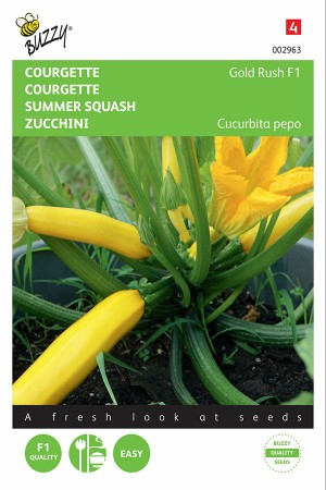 Gold Rush F1 - Summer Squash