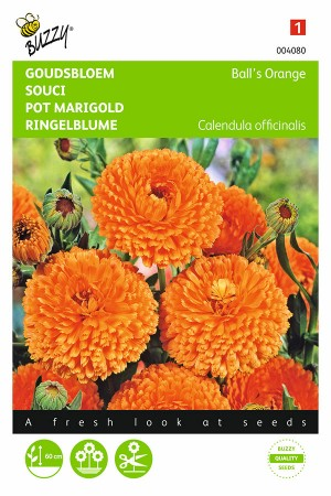 Balls Orange Marigold Calendula seeds