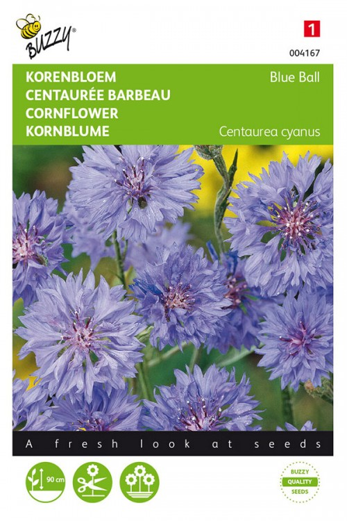 Blue Ball Centaurea Cornflowers seeds