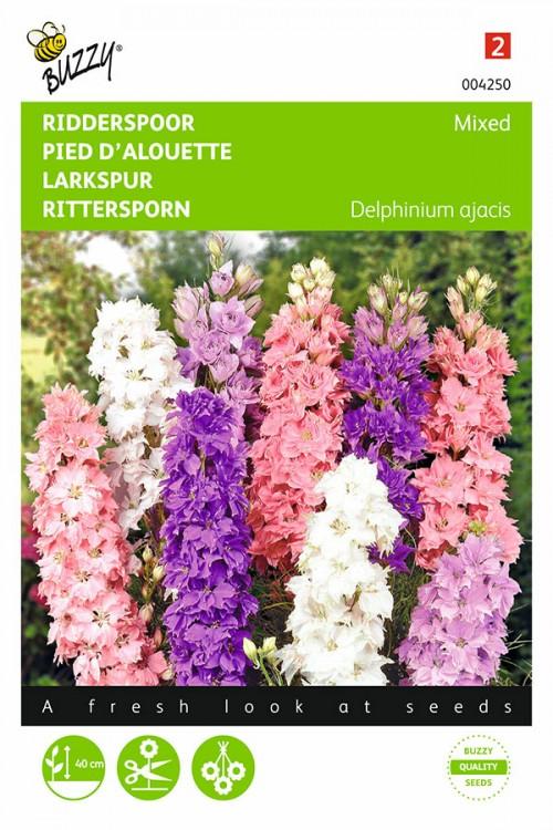 Hyacinth Consolida ajacis - Ridderspoor zaden