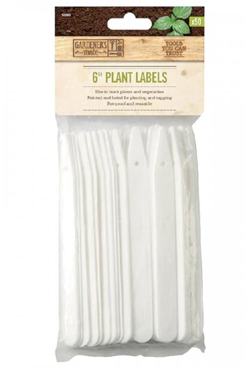 Plantlabels 12,7cm - 50 Steeketiketten