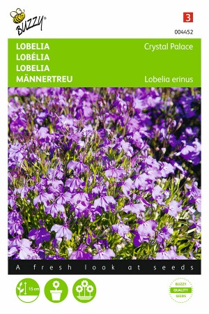 Crystal Palace Lobelia seeds
