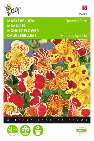Queens Prize Monkey flower Mimulus seeds