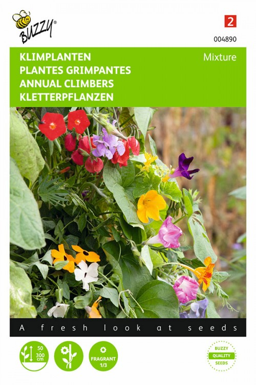 Klimplanten Bloemenmengsel zaden