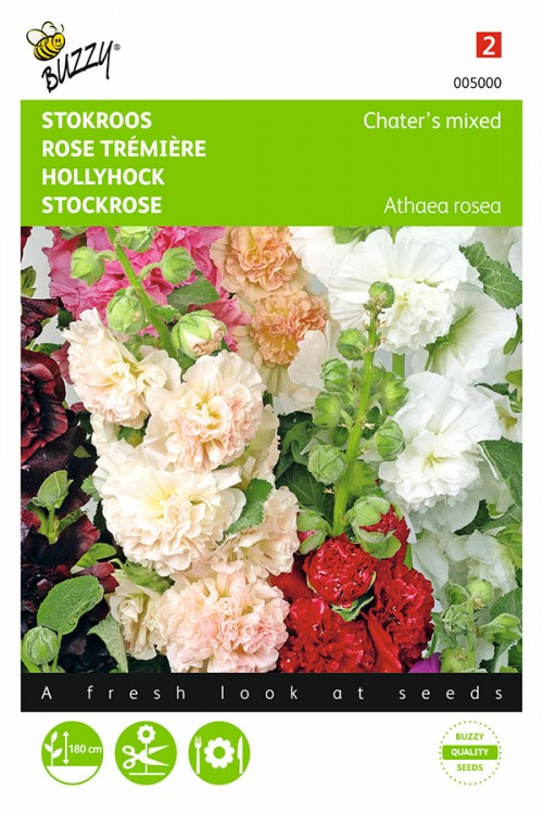 Chaters double flowered - Hollyhock seeds