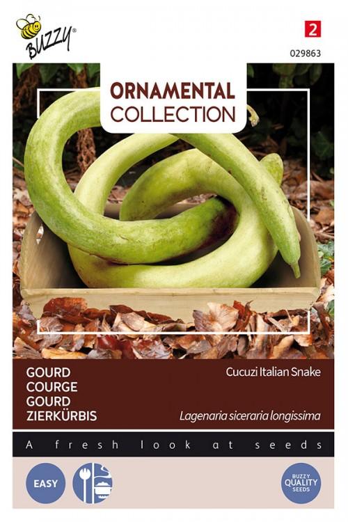 Cucuzi Italian Snake Gourd zaden