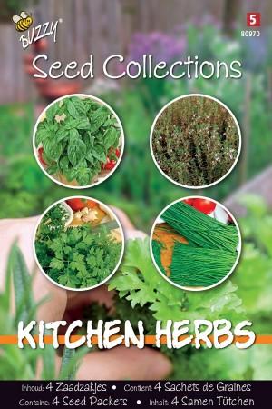 Kitchen Herbs - 4 in 1
