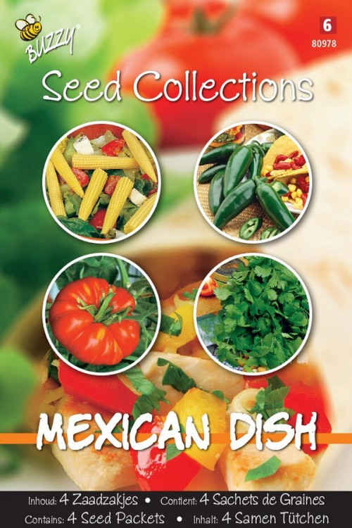 Mexican Dish Mix - 4 in 1 seeds