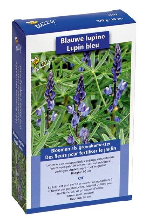 Blauwe Bittere Lupine zaden - 10 m2 Groenbemester
