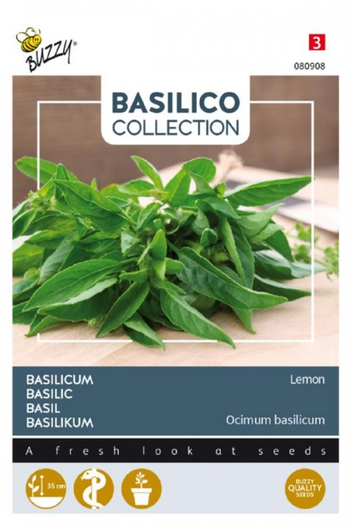 Citroen Limone Basilicum zaden