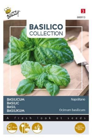 Napolitano Basilicum zaden