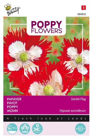 Danish Flag - Papaver...