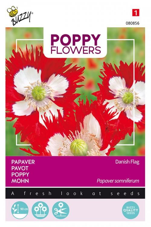 Danish Flag - Papaver somniferum seeds