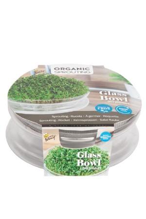 Kweekset BIO Glazen Bowl