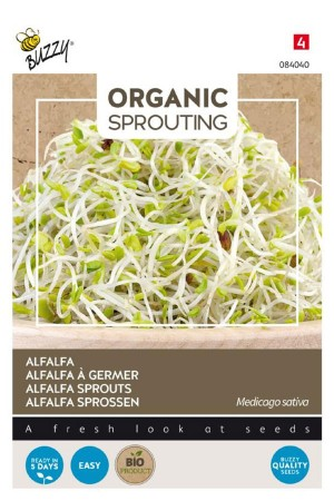Alfalfa - Organic Sprouting