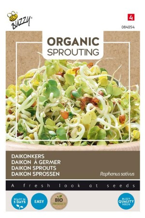 Daikonkers - Organic Sprouting