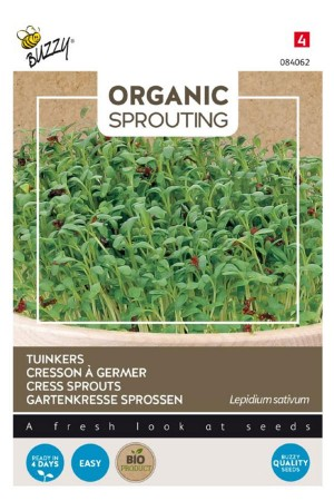 Cress Organic Sprouting seeds
