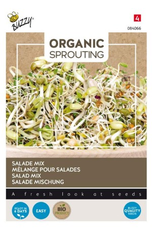 Salad Mix Organic Sprouting...