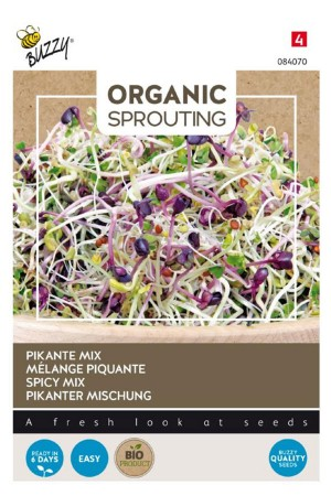 Spicy Mix Organic Sprouting...