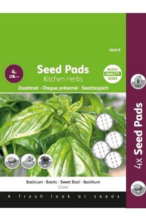 Sweet Basil seeds - Seedpads