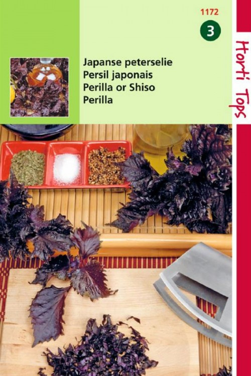 Red Perrilla Shiso seeds